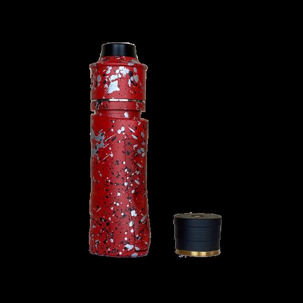 Red Silver Black Splatter Siege Kit V3