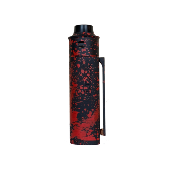 Black Red Splatter Atom V3 Kit