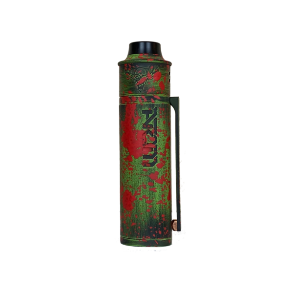 Green Battleworn Red Splatter Atom Elite